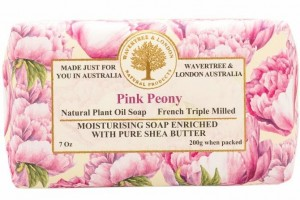 Wrapped Soap Pink Peony