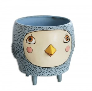 Blue Bird Planter Medium