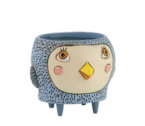Blue Bird Planter Small
