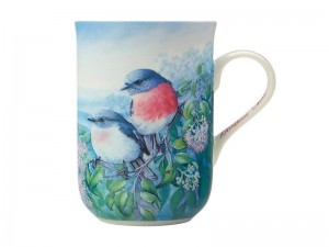 Maxwell + Williams Birds Of Australia Mug Rose Robin