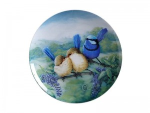 Maxwell + Williams Birds Of Australia Plate Splendid Fairy Wren