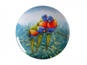 Maxwell + Williams Birds Of Australia Plate Lorikeet