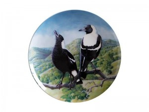 Maxwell + Williams Birds Of Australia Plate Magpie