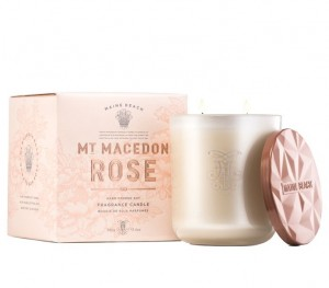 Mt Macedon Rose Soy Candle