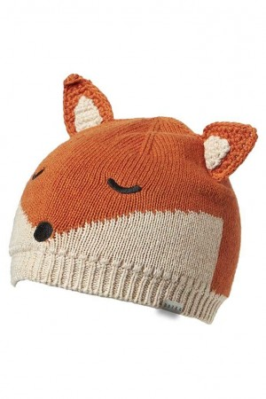 Boys Beanie Fox Small
