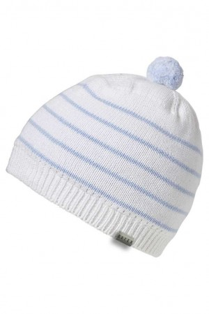 Boys Beanie Marco - Blue Large