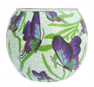 Candle Holder Chasing Butterflies