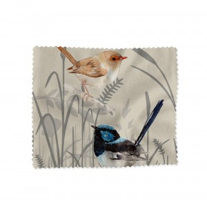 Lens Cloth Blue Wren Single