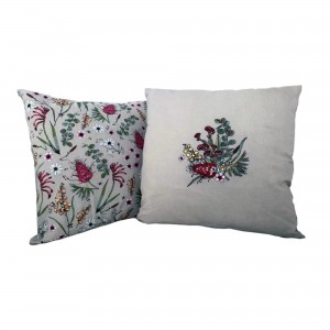 Native Floral Cushion Cover
