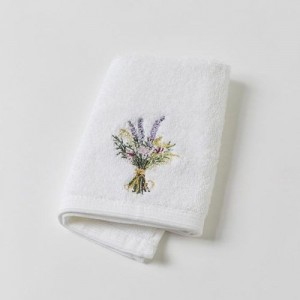 Lavender Posy Face Washer