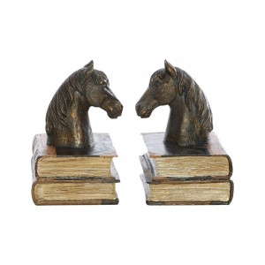 Bronze Horse Bookends