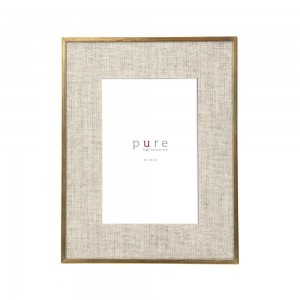 Frame Linen With Gold Edge