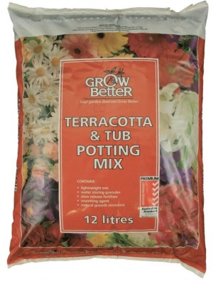 Terracotta & Tub Mix 12lt