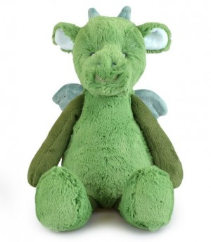 Plush Green Dragon