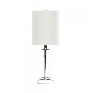 Lamp Glass Chrome Clylinder