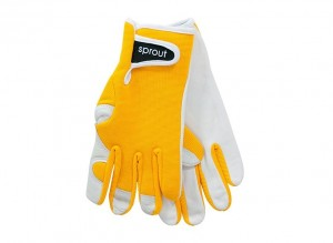 Sprouts Goatskin Gloves - Sunshine