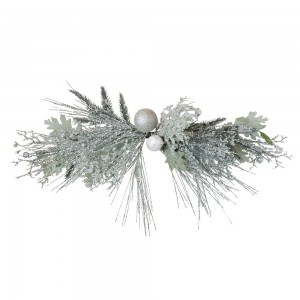 Centre Piece Frosted Sage + White