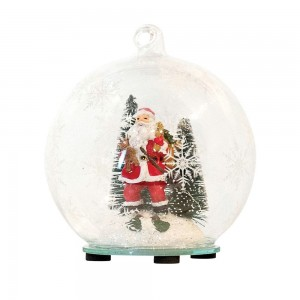 Bauble LED With Santa