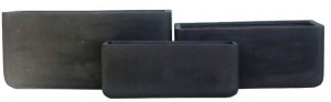 Lightweight Trough Black Large