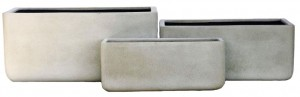 Lightweight Trough Grey Large