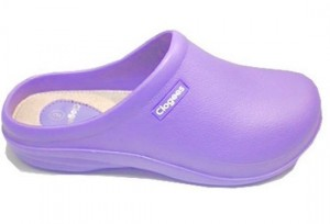 Lilac Womens Clogees 7
