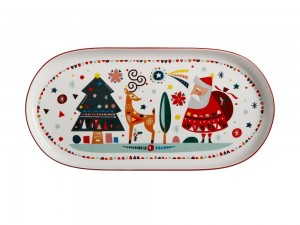 Festive Friends - Oblong Platter