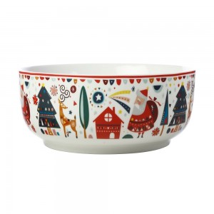 Festive Friends - Round Bowl