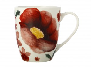 Poinsettia - Poppy Mug
