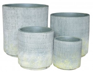 Bella Cylinder Pot Sage Small