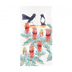 Willy Wag Tail - Tea Towel