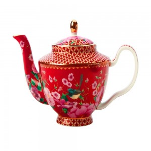 Cherry Red - Teapot With Infuser