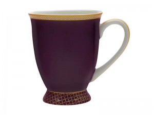 Violet - Classic Footed Mug