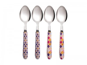 Rose Teaspoon Set