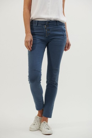 Italian Star Jean - Airforce Blue - Medium
