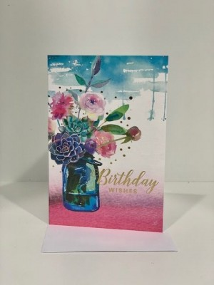 The Floral Gold Card - Large