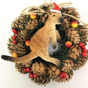 Pinecone Wreath - Kangaroo