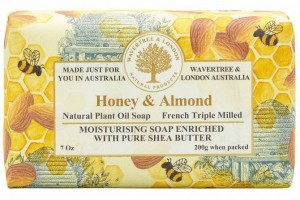 Wrapped Soap Honey Almond