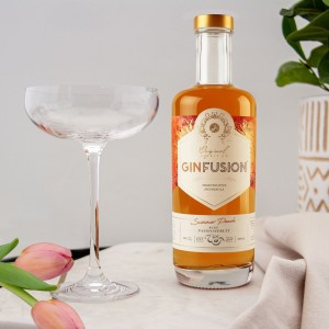 Ginfusion Summer Peach + Passionfruit 500ml