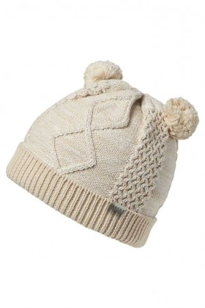 Boys Beanie Owen - Oatmeal Small