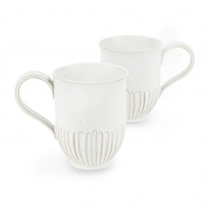 Crafted Mug - White