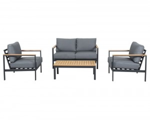 Opal 4pc Lounge with Teak