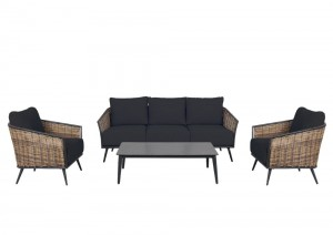 Boulevard 4pc Lounge Set