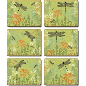 Dragonfly Delight Coasters