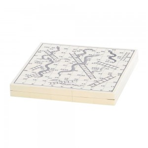 Bone Snakes + Ladders Board Set