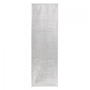 Table Runner Silver With Diamontes