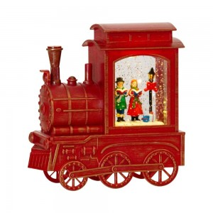 Musical Train Red With Scene