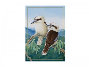 Maxwell  + Williams Birds Of Australia Tea Towel Kookaburra