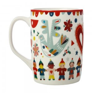Festive Friends - Peace Mug