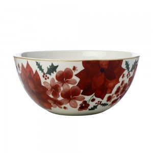 Poinsettia - Serving Bowl