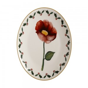 Poinsettia - Poppy Plate
